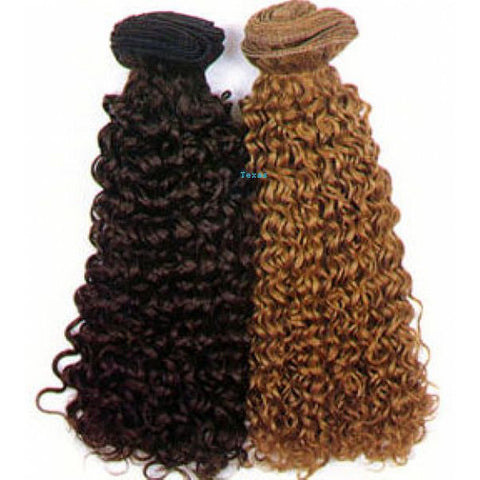FRTC / Jerry Curl Weaving Hair - 100% Human Hair