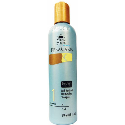 Keracare Dry & Itchy Scalp Shampoo - 8oz bottle (blue bottle)