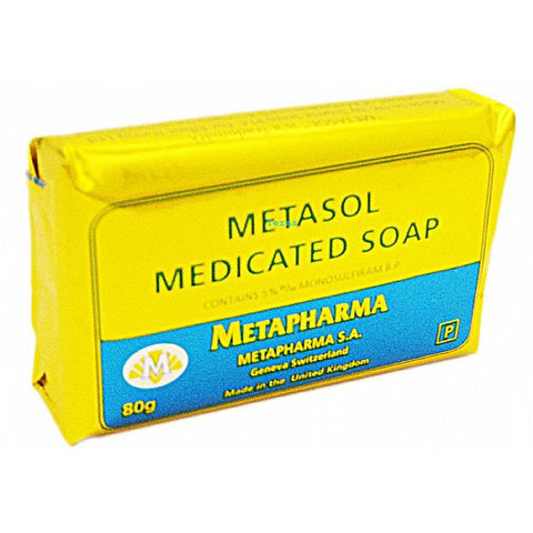 METASOL Medicated Soap - 80g