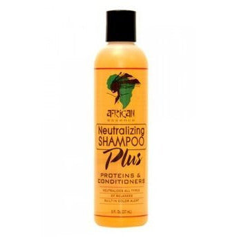 African Essence NEUTRALIZING SHAMPOO - 8oz bottle (NO CA)