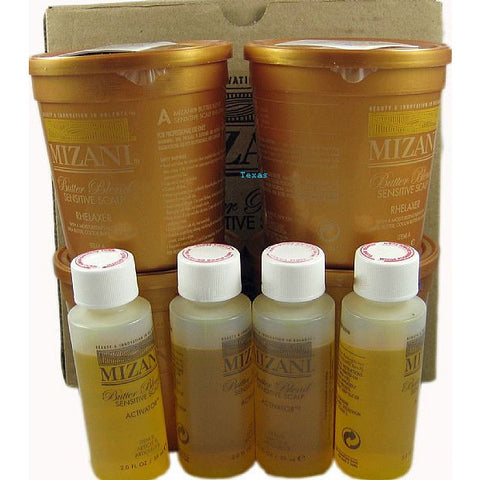 Mizani Butter Blend Sensitive Scalp Rhelaxer KIT #146
