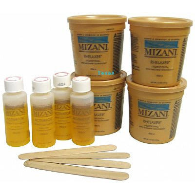 Mizani SENSITIVE SCALP RHELAXER Kit (4 Application)