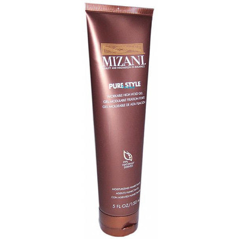 Mizani Pure Style workable high hold gel - 5oz tube