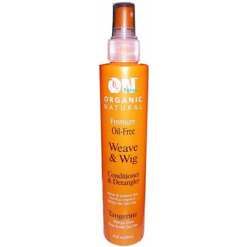 Organic Natural Weave and Wig Conditioner and Detangler - 8oz spray