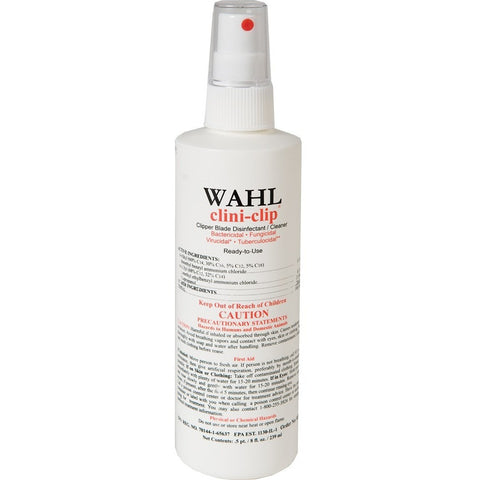 Wahl Clini-clip Clipper Blade Disinfectant Cleaner - 8oz spray