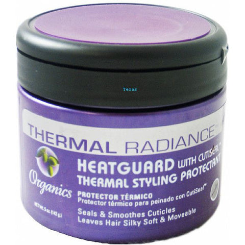 Organics Thermal Radiance Heatguard Thermal Styling Protectant -5oz jar