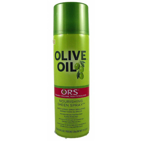 Organic Root Stimulator Olive Oil Sheen Spray - 11.7 oz aerosal