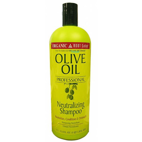 Organic Root Salon Olive Oil NEUTRALIZING SHAMPOO - 33.8oz bottle