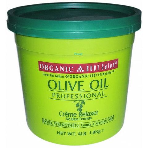 Organic Root Stimulator Olive Oil Creme Relaxer No Base - 4lb Tub