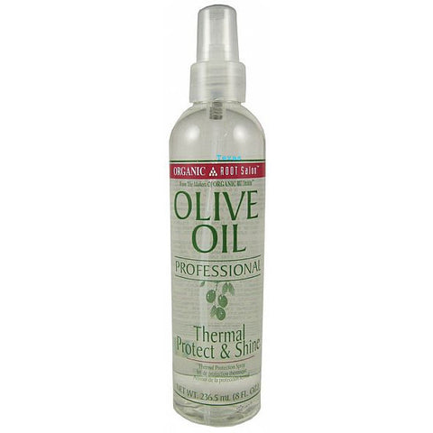 Organic Root Stimulator Thermal Protect & Shine - 8oz spray