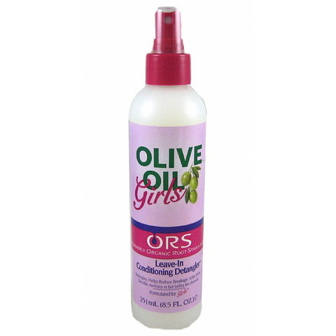 ORS Olive Oil Girls Leave In Conditioning Detangler - 8.5oz bottle