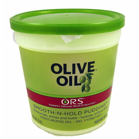 Organic Root Stimulator Olive Oil Smooth n Hold PUDDING - 13oz tub #11164