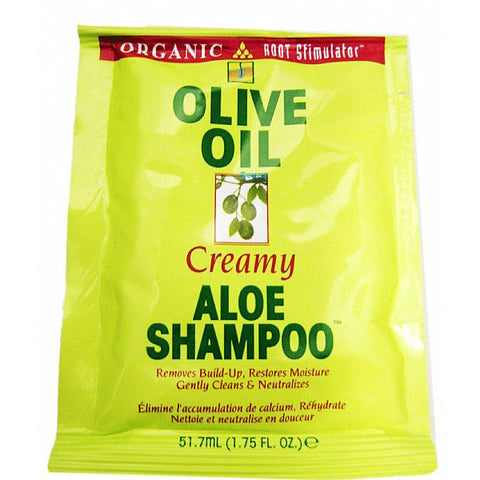 Organic Root Stimulator Creamy Aloe Shampoo - 1.75oz packet
