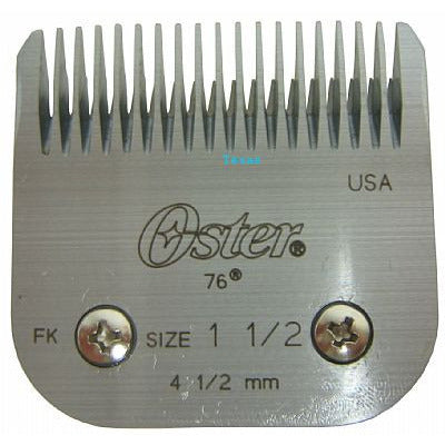 Oster Blade set for Classic 76 clippers - Size 1.5 - # 76918-116