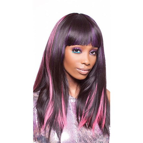 Pink Diamond CLIP ON - 100% INDIAN REMI Hair - 18inch