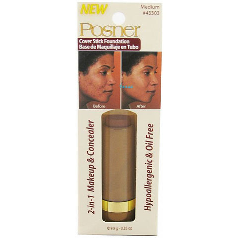 Posner 2 in 1 Makeup and Concealer 0.35oz - 2 packs