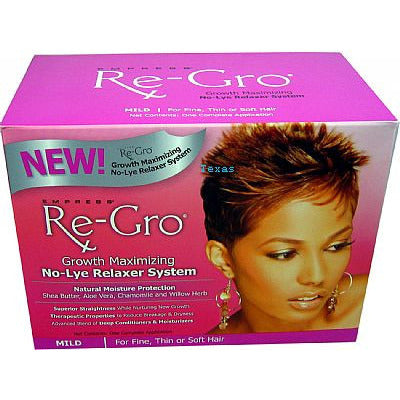 Empress Re-Gro No Lye Relaxer System - Kit