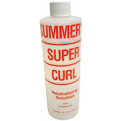 Summers SUPER CURL Neutralizing Solution - 16oz bottle