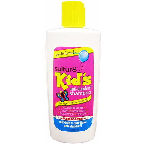 Sulfur8 Kids Medicated Anti-Dandruff Shampoo - 7.5oz bottle (NO CA)