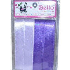 Hair Ribbon - 2 shades of purple # 41842