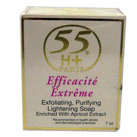 55H+ Exfoliating Purifying Lightening Soap - 7oz bar