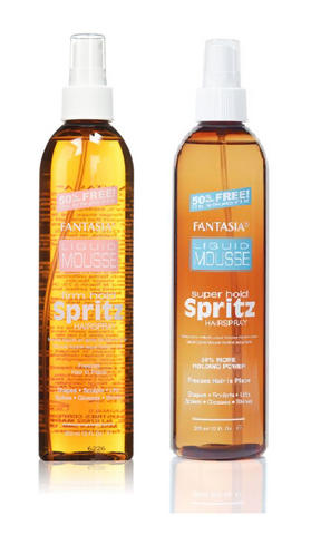 Fantasia LIQUID MOUSSE Spritz hair spray - 12oz spray