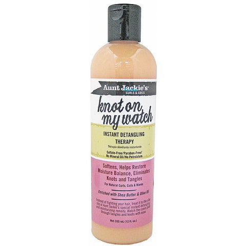 Aunt Jackies Knot On My Watch Instant Detangling Therapy - 12oz bottle