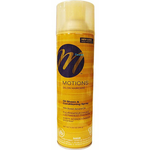 Motions At Home OIL SHEEN & Conditioning Spray - 11.25oz aerosal