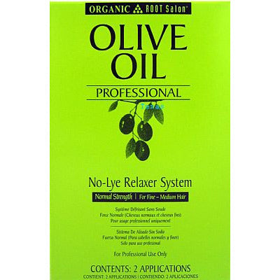Organic Root Salon Olive Oil NoLye Relaxer System - Kit