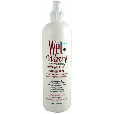 Bonfi WET-N-WAVY Leave In Conditioner - 16oz spray