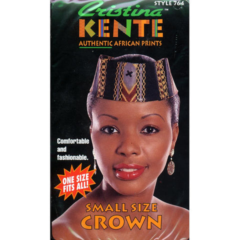Cristina KENTE Authentic African Prints - Small Size Crown - style 764