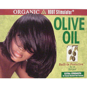 Organic Root Stimulator Olive Oil No-Lye Relaxer Kit