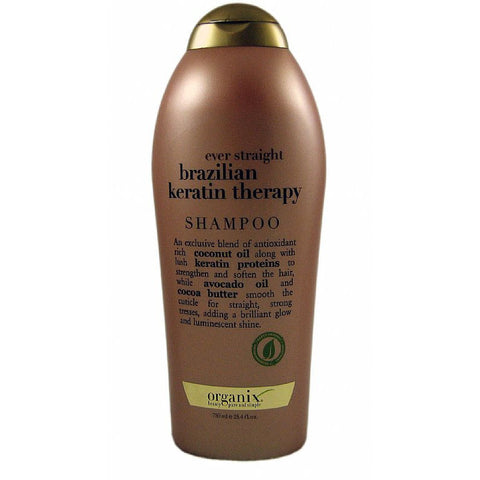 Organix Brazilian Keratin Therapy Shampoo - 25.4oz bottle (NO CA)