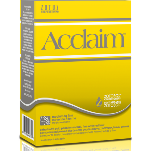 Acclaim Extra Body Acid Perm for Normal, Fine or Tinted Hair - Extra Body
