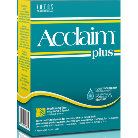 Acclaim Plus Extra Body Acid Perm for Normal, Fine or Tinted Hair - Plus Extra Body