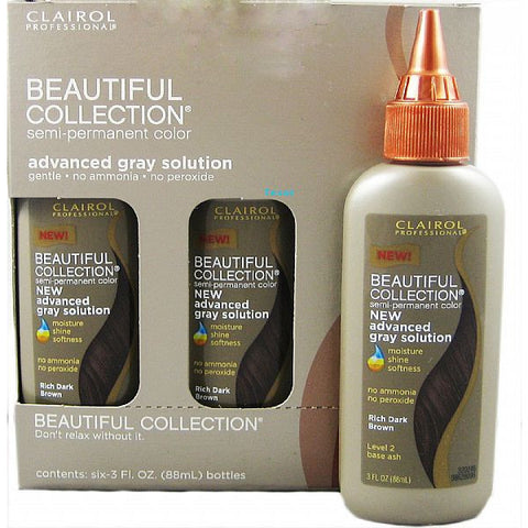 Beautiful Collection Advanced Gray Solution - 6 pack of 3oz