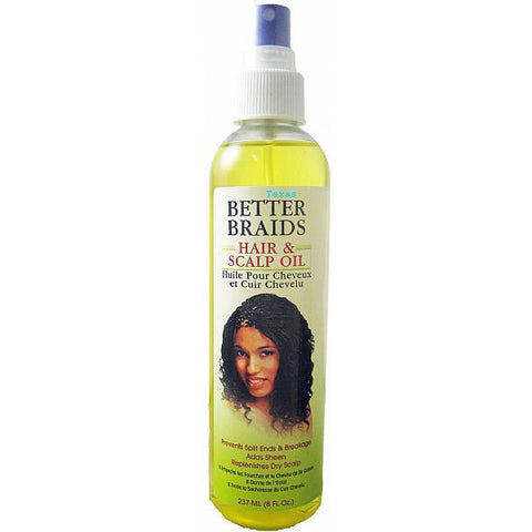 Better Braids HAIR & SCALP OIL - 8oz spray