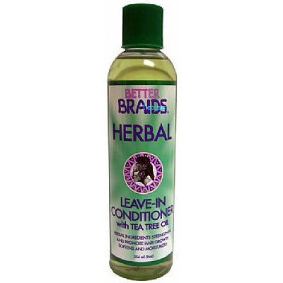 Better Braids Herbal LEAVE IN CONDITIONER - 9oz bottle