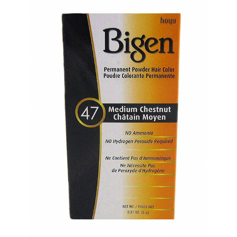 Bigen Permanent powder Haircolor kit