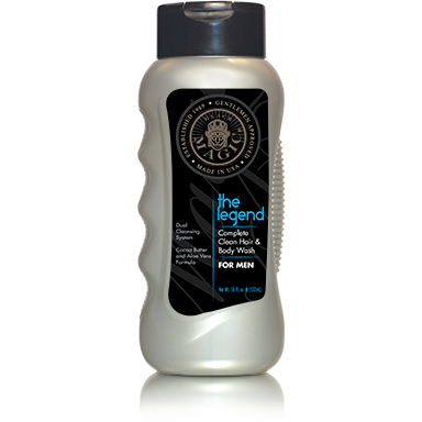 Black Magic Complete Clean Hair & Body Wash for Men 18oz