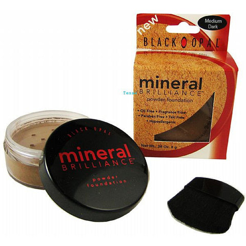 Black Opal Mineral Brilliance Powder Foundation - 3 Pack