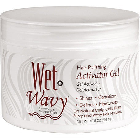Bonfi WET-N-WAVY Hair Polishing ACTIVATOR - 10.5oz jar