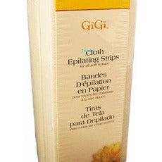 Gigi Cloth Epilating Strips SMALL - 100 strips #5000