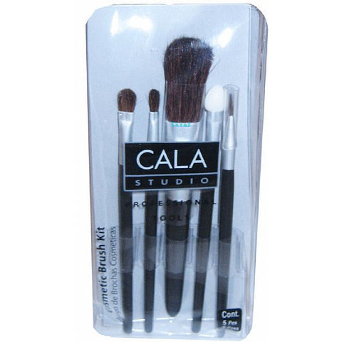 Cala Travel Cosmetic Brush Kit - 5 piece #70844