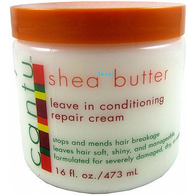 Cantu Shea Butter LEAVE IN Conditioning REPAIR Cream - 16oz jar