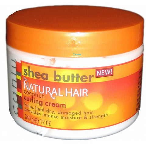Cantu Shea Butter for Natural Hair Coconut Curling Cream - 12oz