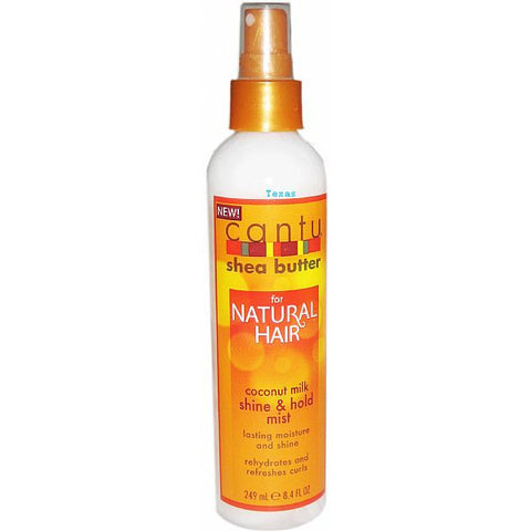 Cantu Shea Butter for Natural Hair Coconut Milk Shine and Hold Mist - 8.4oz spray