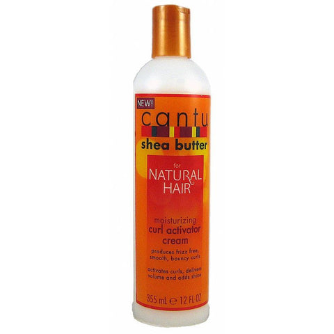 Cantu Shea Butter for Natural Hair Curl Activator Cream - 12oz bottle