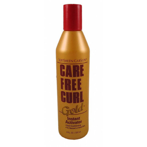 Care Free Curl GOLD Instant Activator - 8oz bottle