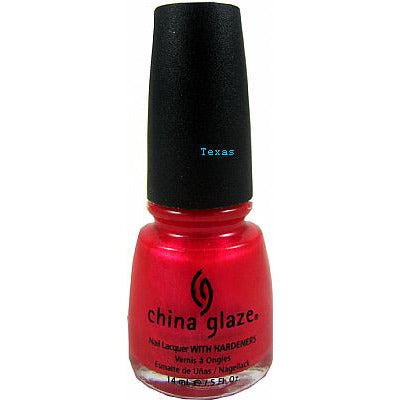 China Glaze Nail Lacquer With Hardeners - 0.5oz bottle